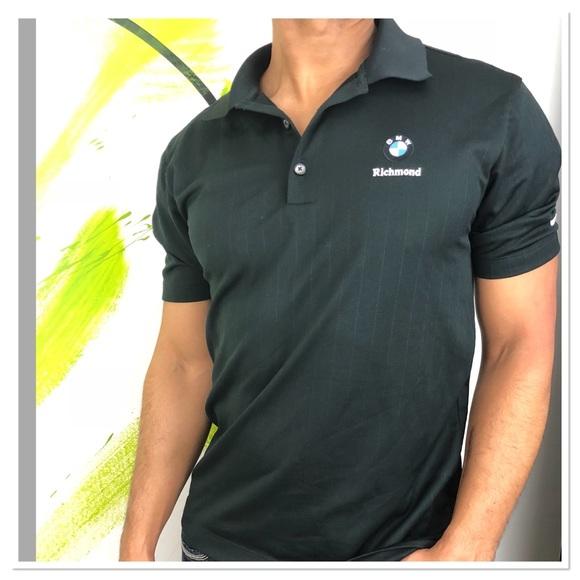 6c215619d54a Nike Shirts   Mens Golf Bmw Polo Shirt Drifit Logo   Poshmark